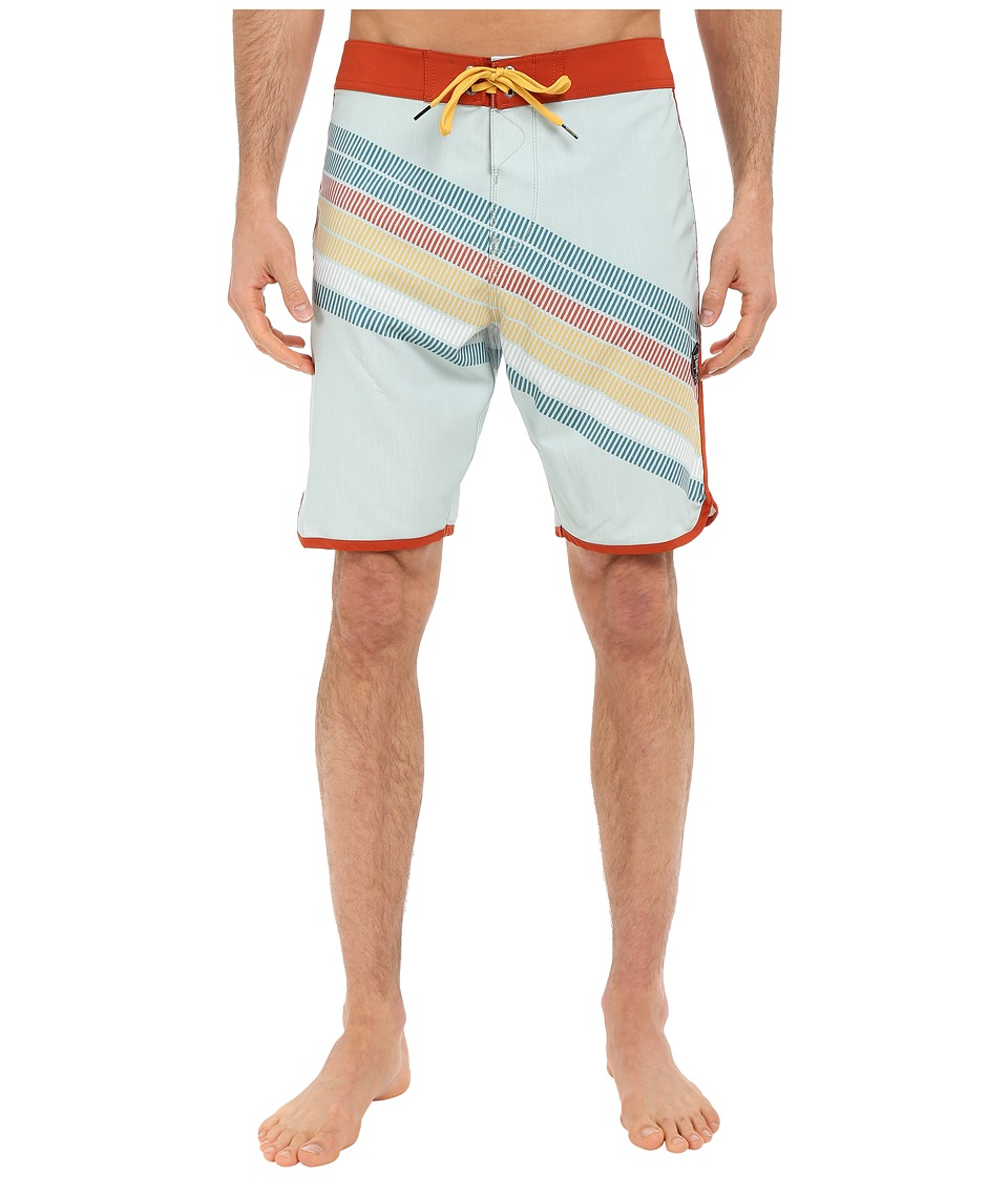 VISSLA - Drain Pipes 4-Way Stretch Boardshorts 20 (Agave) Men's Swimwear