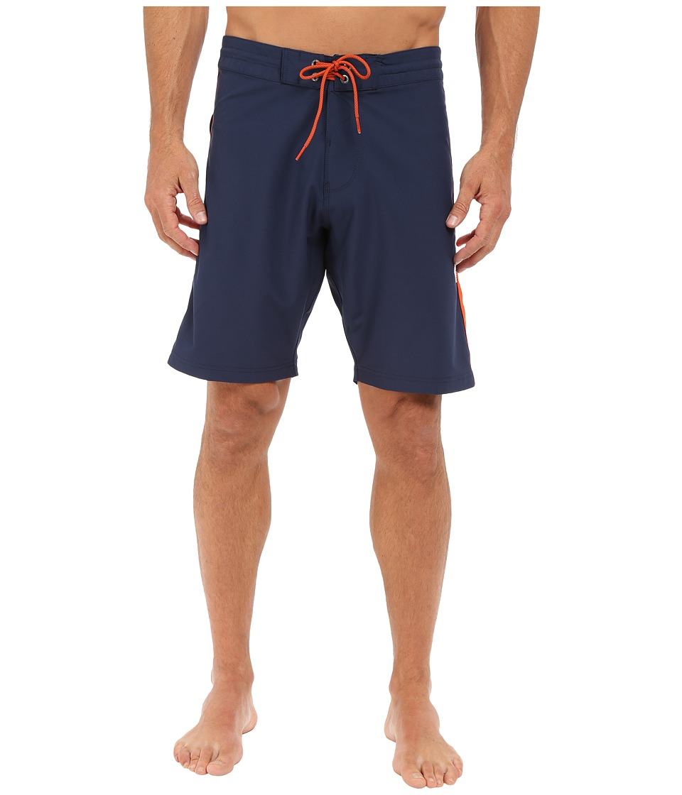 VISSLA - Surf Trip 4-Way Stretch Boardshorts 20 (Dark Navy) Men's Swimwear