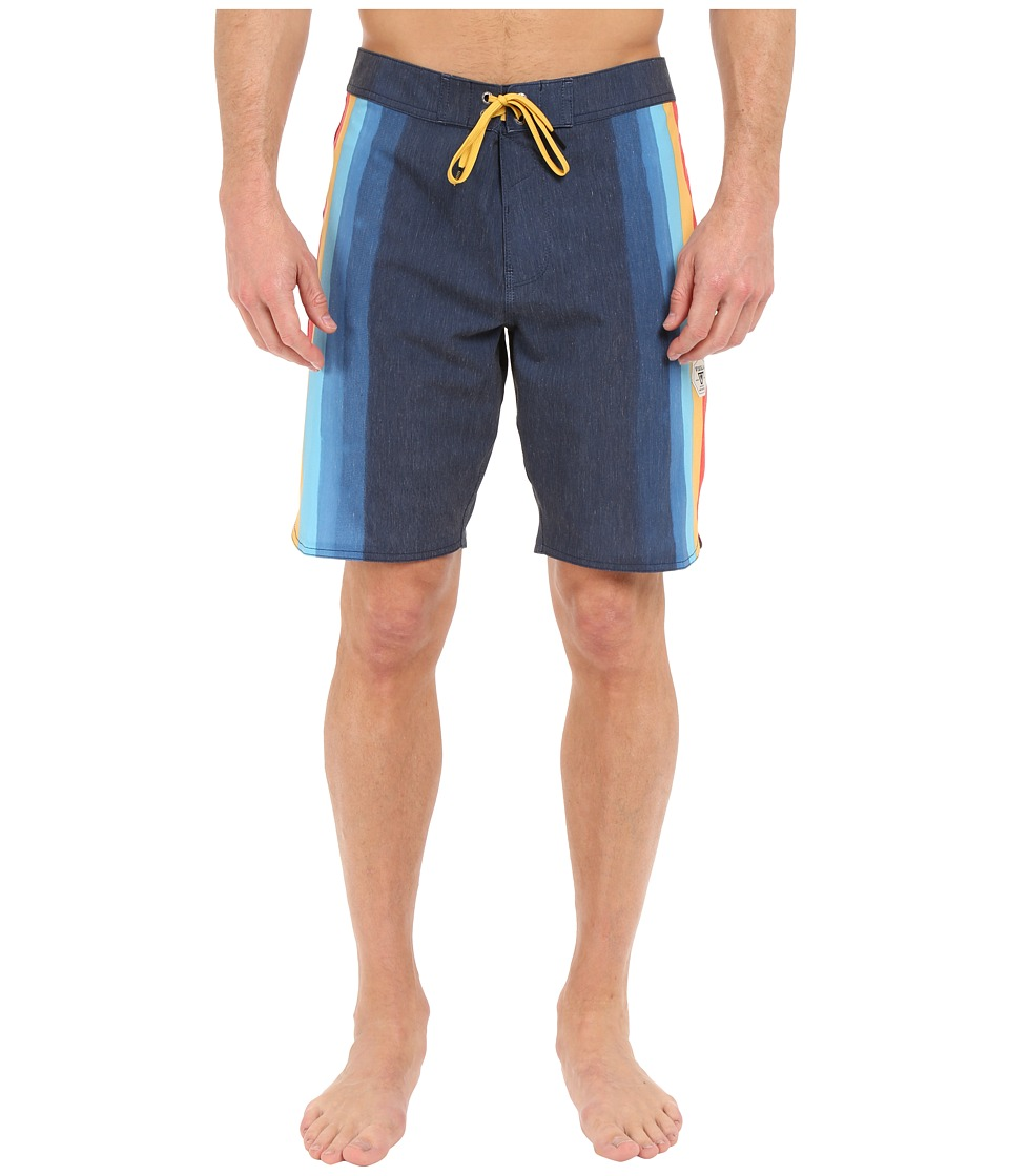 VISSLA - Super Wolf 4-Way Stretch Boardshorts 20 (Midnight) Men's Swimwear