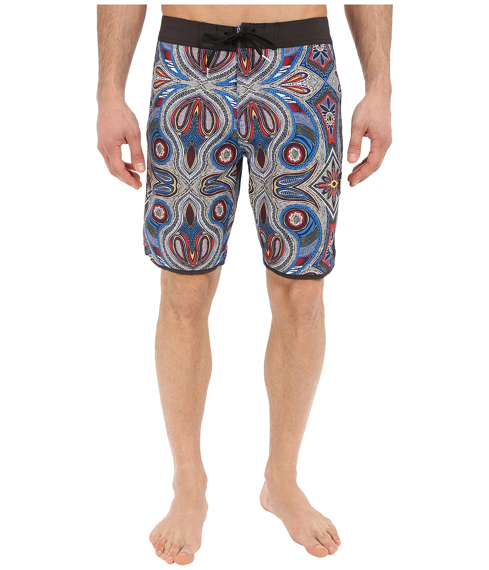 VISSLA - Mystery Reef 4-Way Stretch Boardshorts 20 (Royal) Men's Swimwear