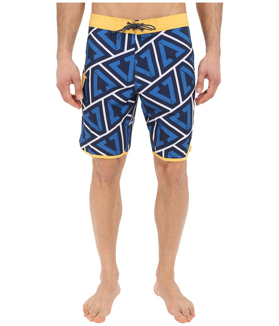 VISSLA - Calipher 4-Way Stretch Boardshorts 20 (Royal Wash) Men's Swimwear