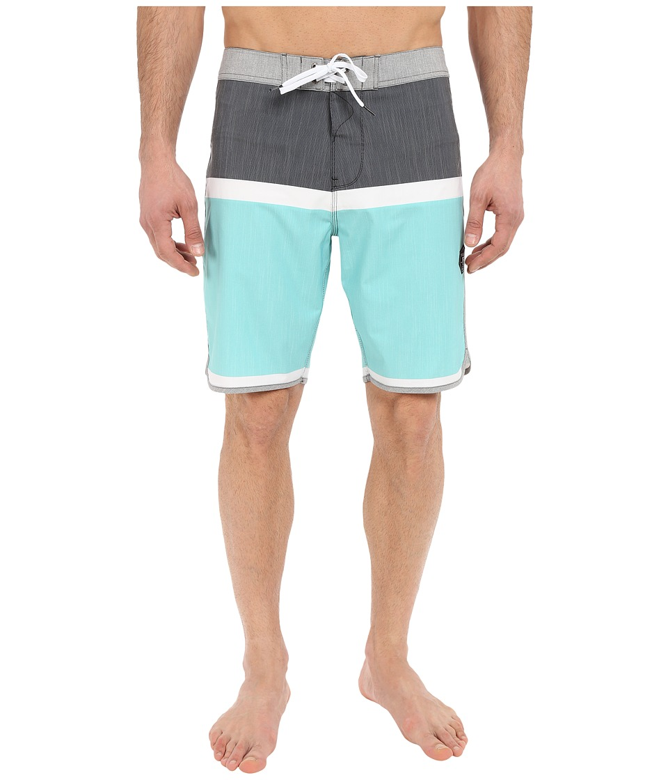 VISSLA - Dredges 20 Boardshort (Black) Men's Swimwear