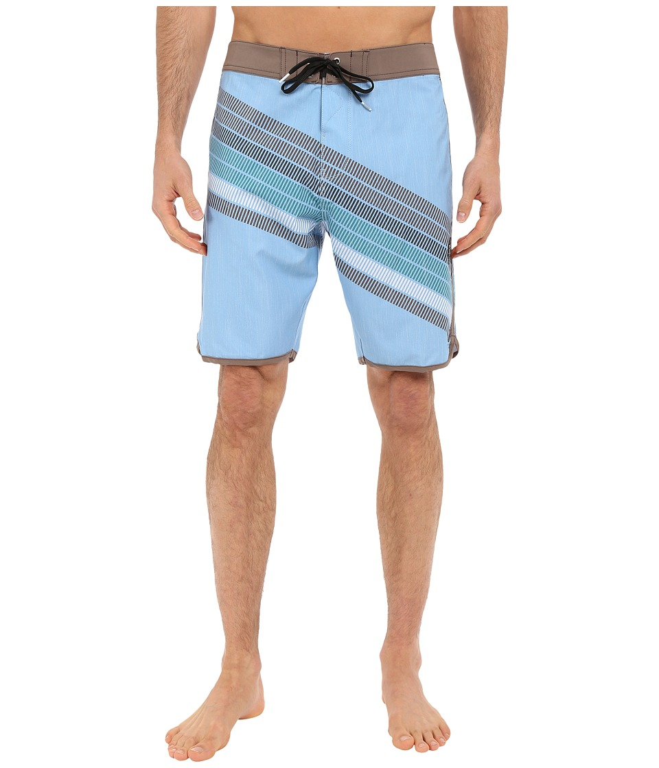 VISSLA - Drain Pipes 4-Way Stretch Boardshorts 20 (Coastal Blue) Men's Swimwear