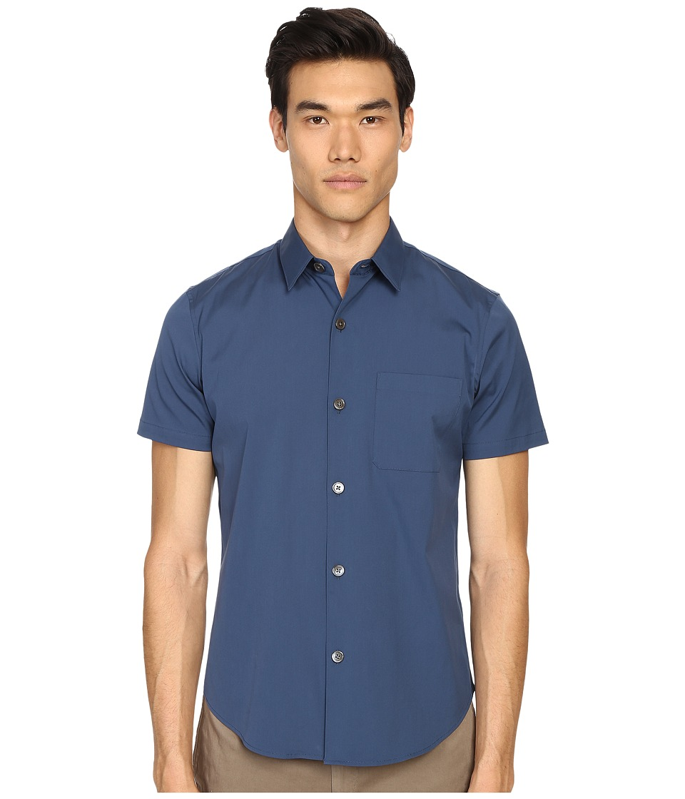 Theory - Rammis S.Ostend Button Up (County Line) Men's Clothing