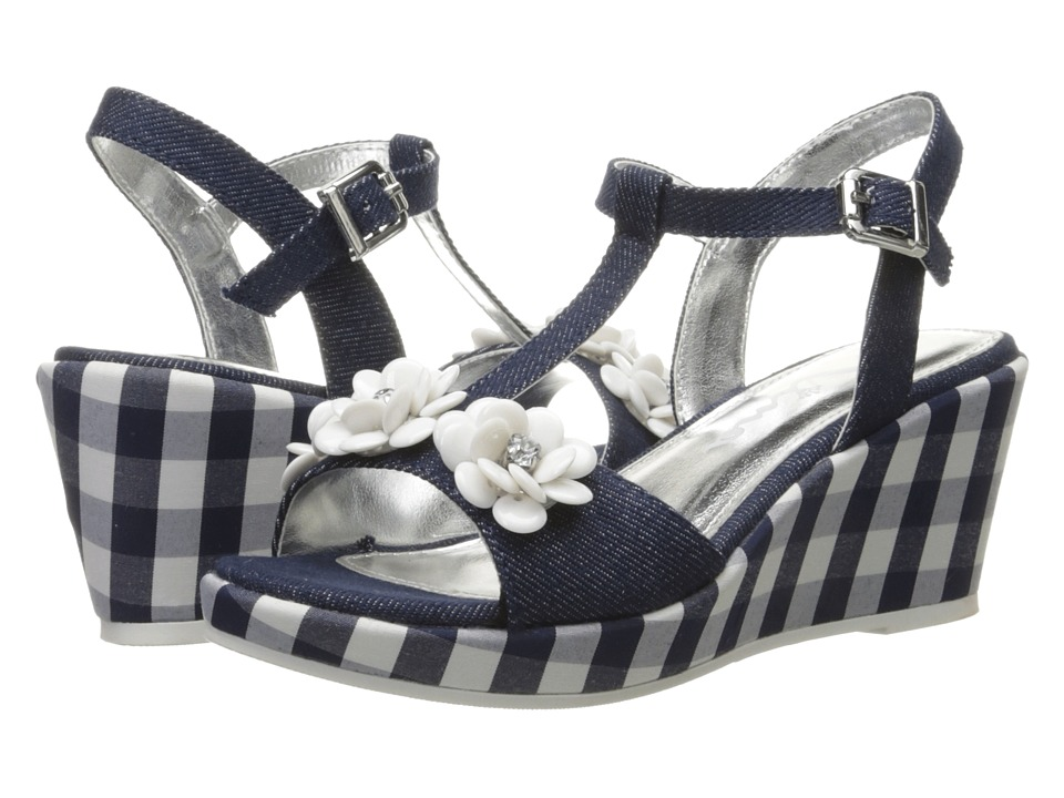 Nina Kids - Suzy (Little Kid/Big Kid) (Indigo) Girl's Shoes