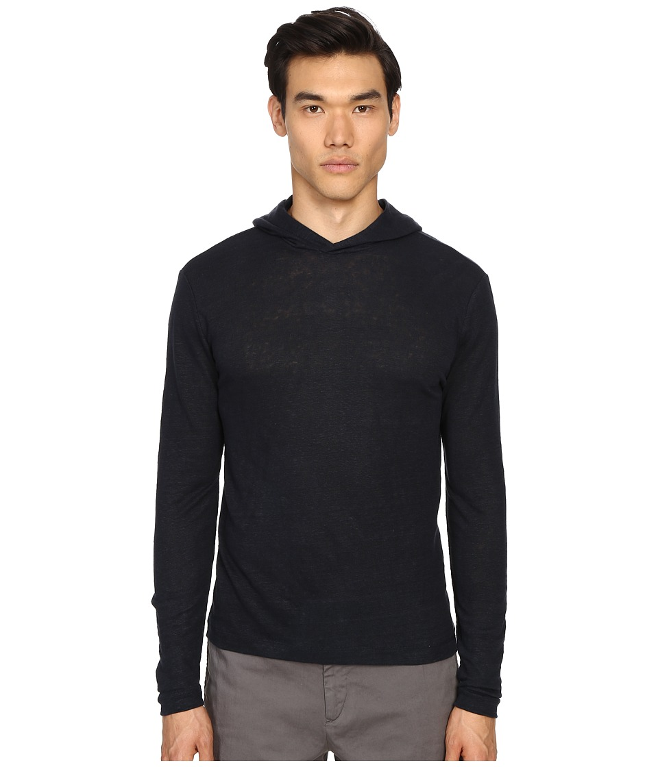 Theory - Colton.Zephyr Wash Hoodie (Eclipse) Men's Sweatshirt