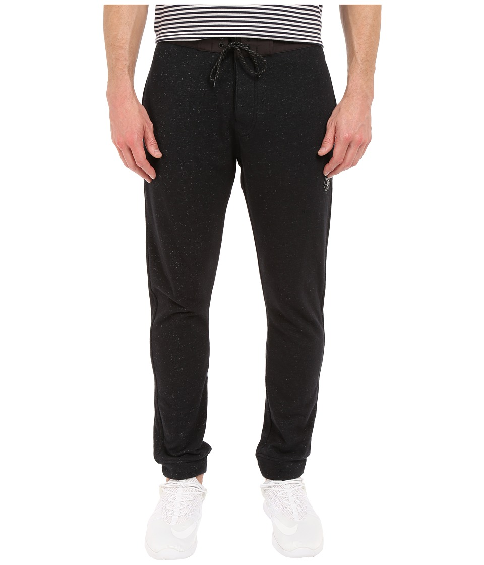 VISSLA - Sofa Surfer Fleece Pants (Black Heather) Men's Casual Pants