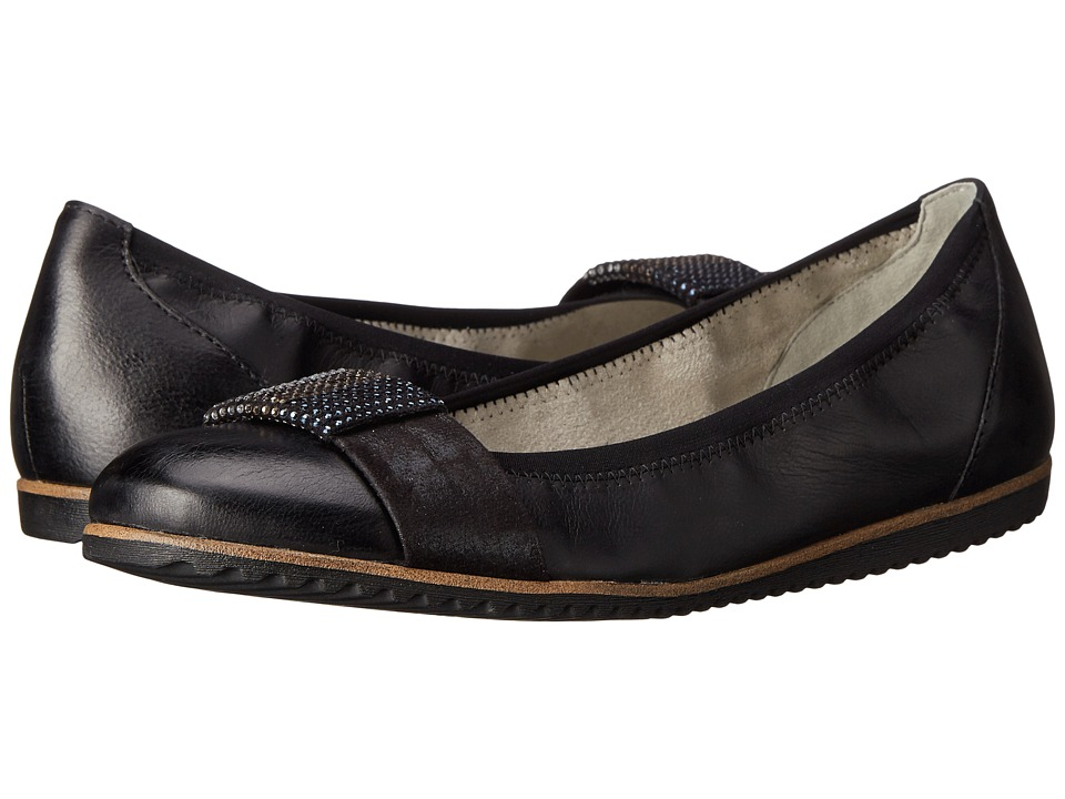Tamaris - Evi 22102-26 (Black) Women's Slip on Shoes