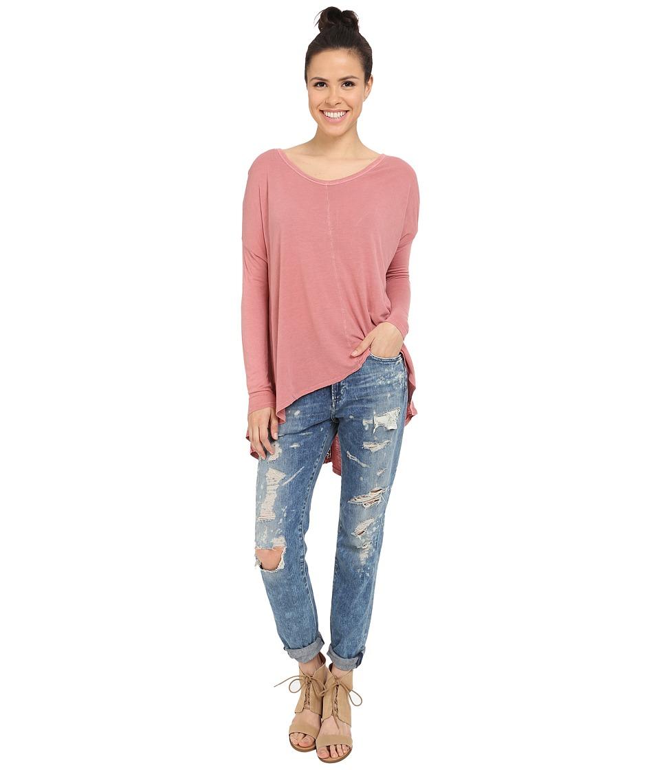 Amuse Society - Lyra Knit Long Sleeve (Desert Rose) Women's Long Sleeve Pullover