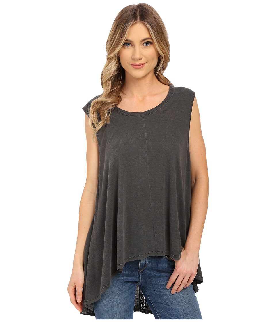 Amuse Society - Joli Knit Muscle Tank Top (Charcoal) Women's T Shirt