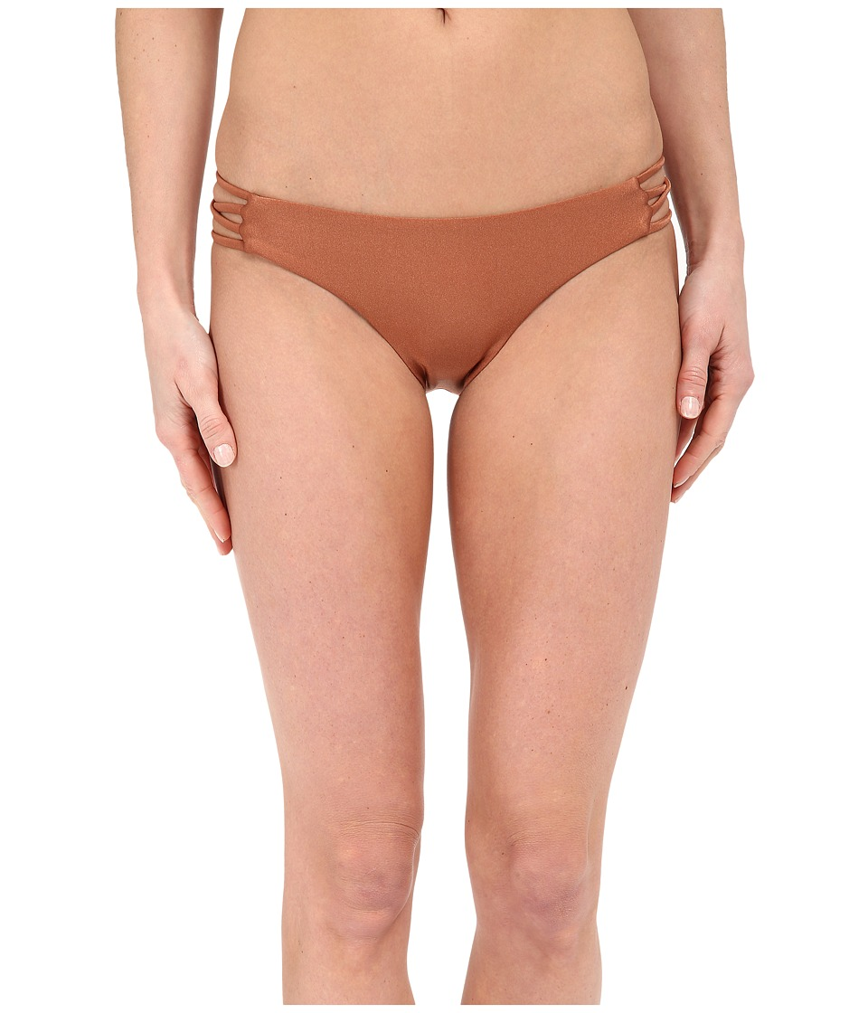 Amuse Society - Serena Solid Everyday Fit Bottom (Moccasin) Women's Swimwear