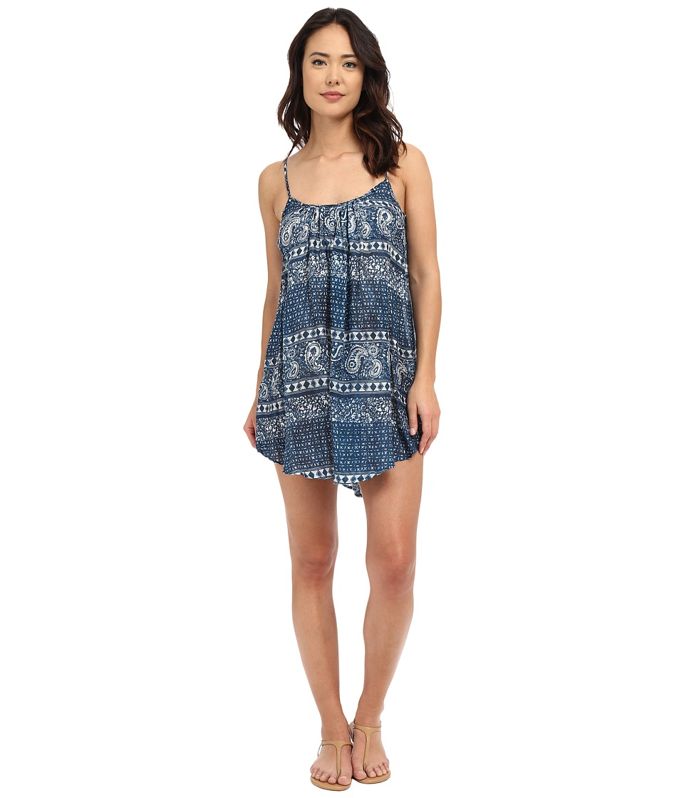 Amuse Society - Rorie Dress (Indy Blue) Women's Swimwear