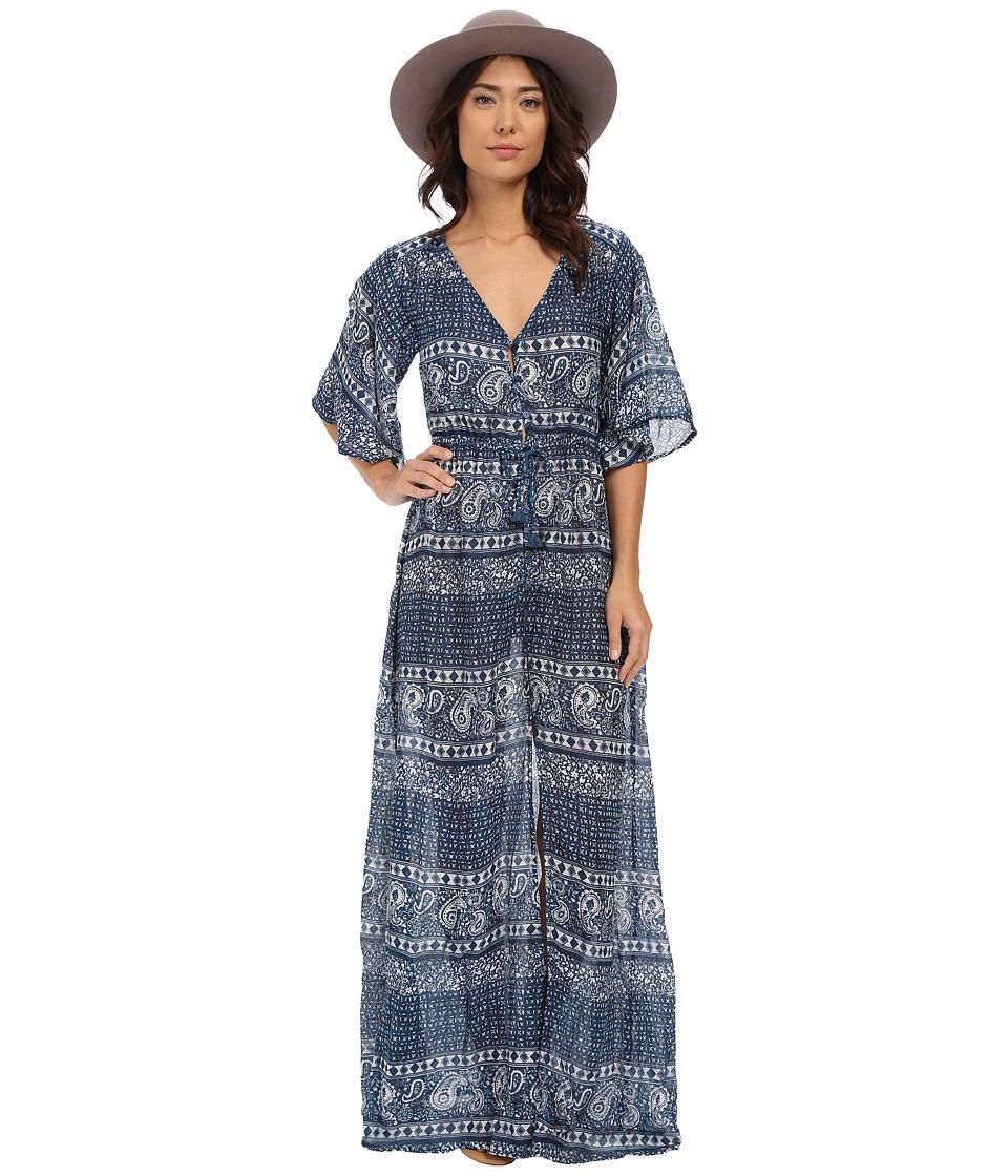 Amuse Society - Cina Dress (Indy Blue) Women's Dress