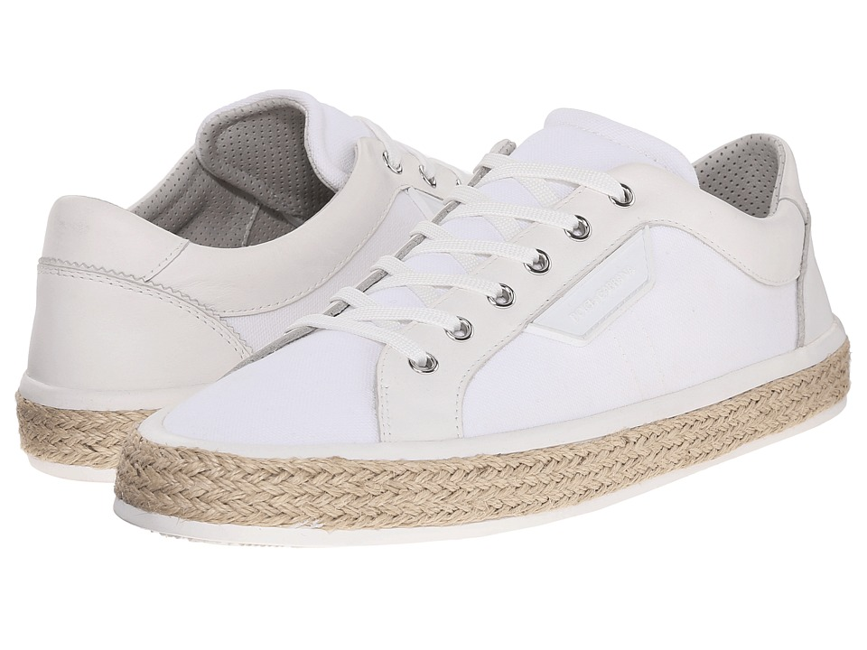 Dolce & Gabbana - Espadrille Sneakers (White) Men's Lace up casual Shoes