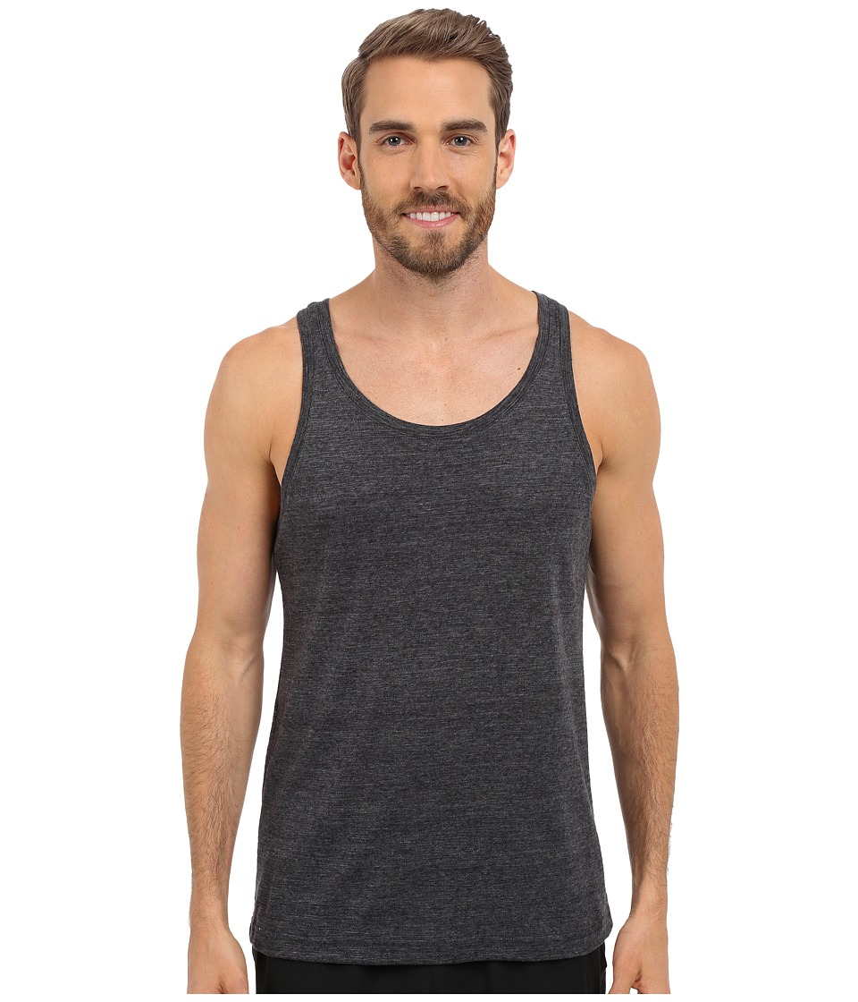 ALO - Core Tank Top (Black Performance Blend) Men's Sleeveless