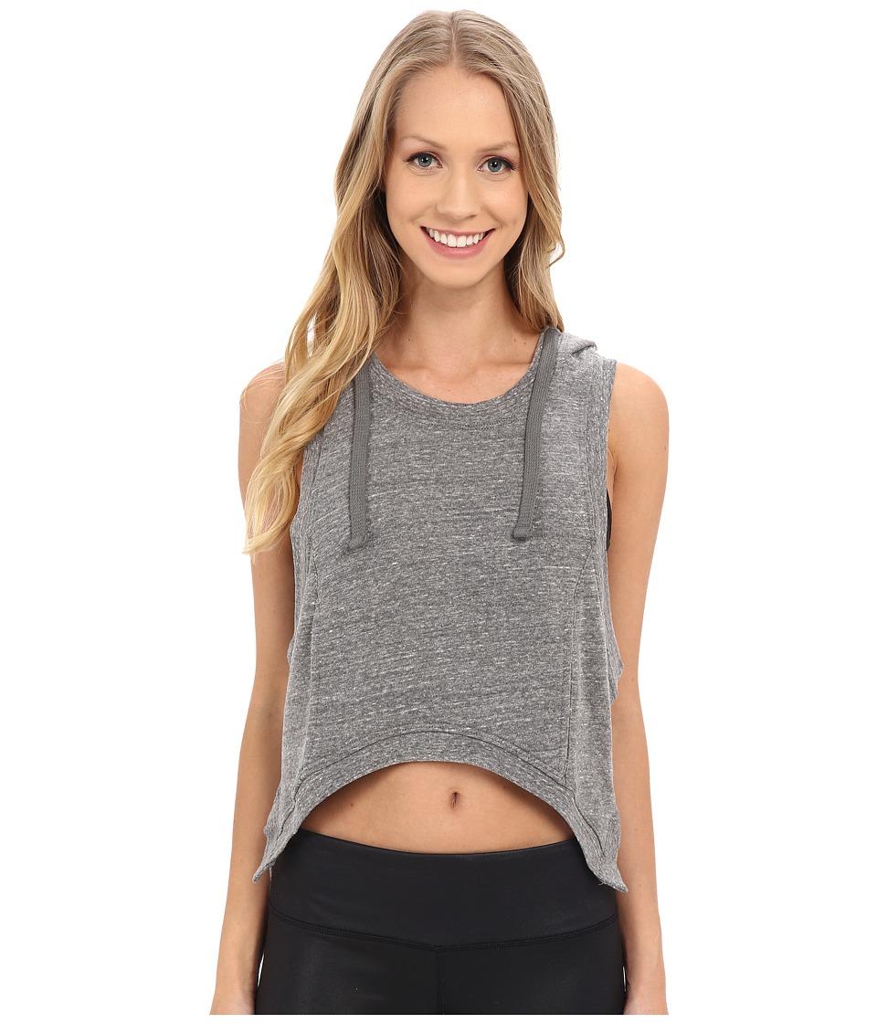 ALO - Gypset High-Low Vest (Grey Heather) Women's Vest