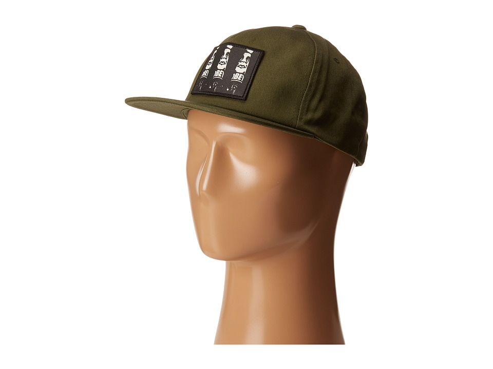 Obey - Cyber Hat (Olive) Caps
