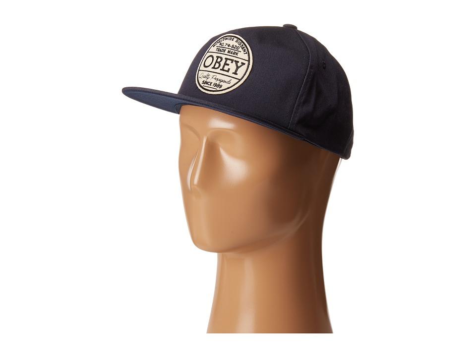 Obey - Deuce Snapback (Navy) Caps