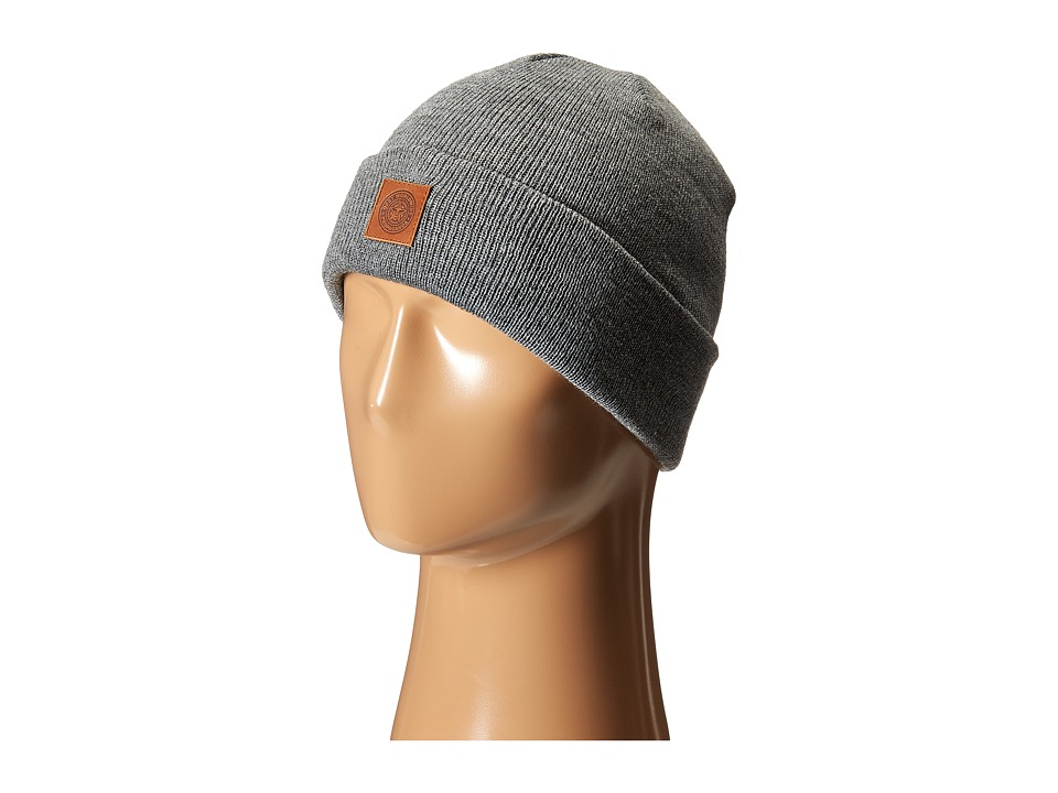 Obey - Jobber Monogram Beanie (Heather Grey) Beanies