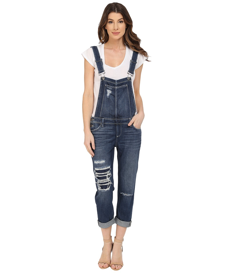 Paige - Sierra Overall in Williams Destructed (Williams Destructed) Women's Overalls One Piece