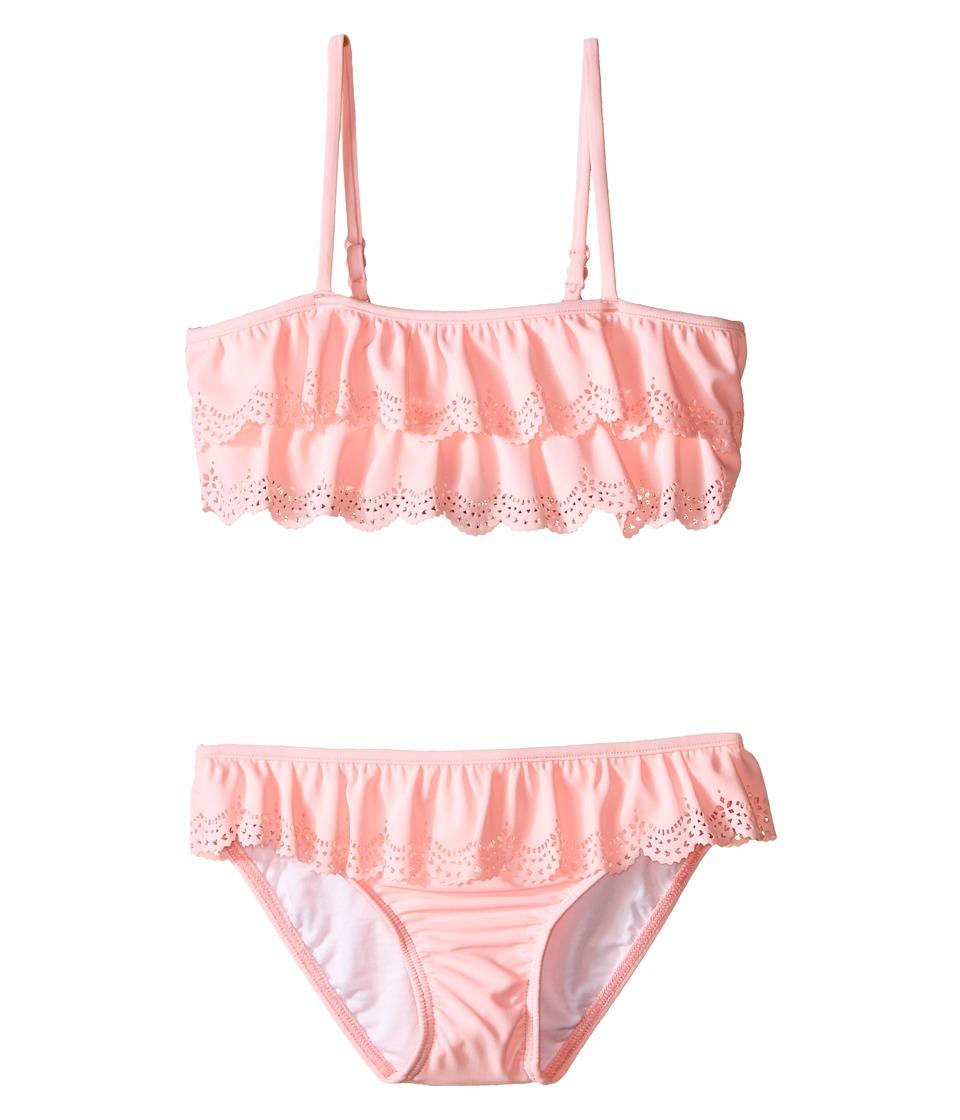 Seafolly Kids - Jewel Cove Mini Tube Bikini (Infant/Toddler/Little Kids) (Carnation Pink) Girl's Swimwear