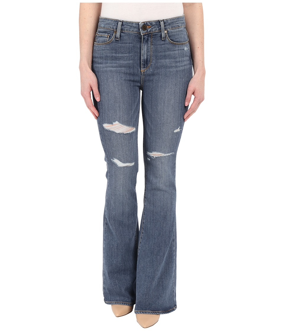 Paige - High Rise Bell Canyon Petite in Brady Destructed (Brady Destructed) Women's Jeans