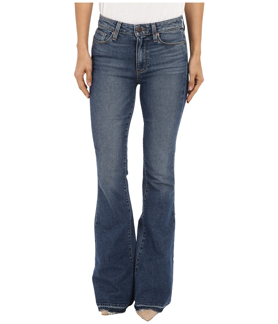 Paige - High Rise Bell Canyon w/ Undone Hem in Tay (Tay) Women's Jeans