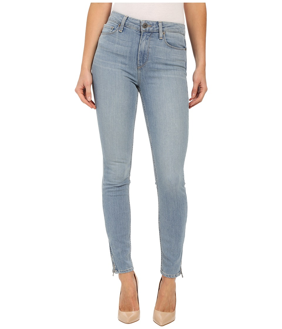 Paige - Hoxton Ankle Zip w/ Caballo Inseam in Addy (Addy) Women's Jeans