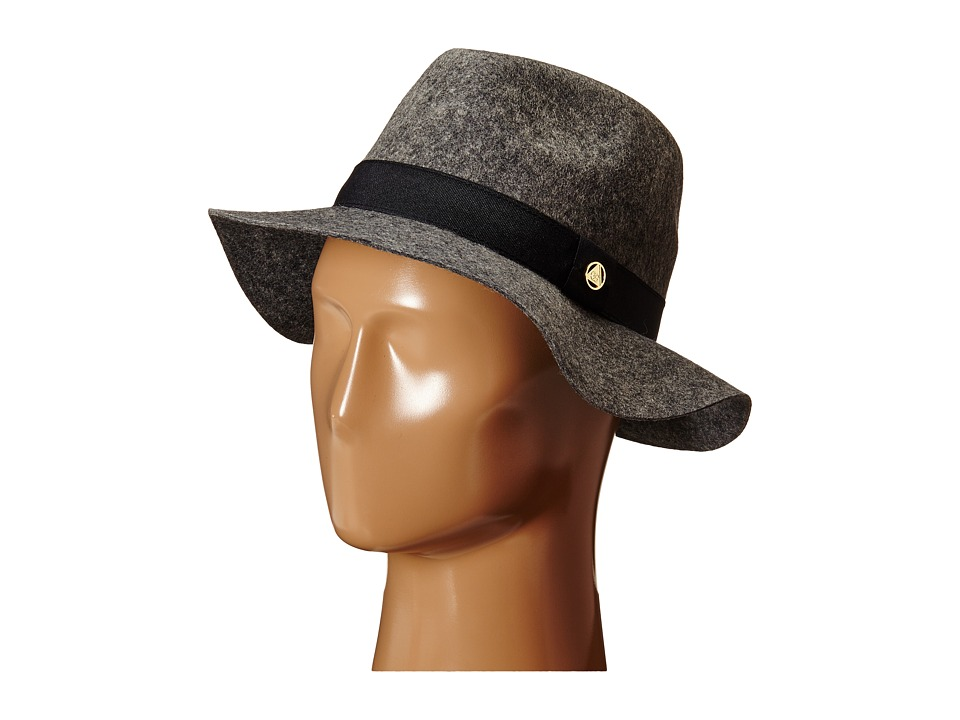 Obey - Sienna Fedora Hat (Heather Grey) Fedora Hats