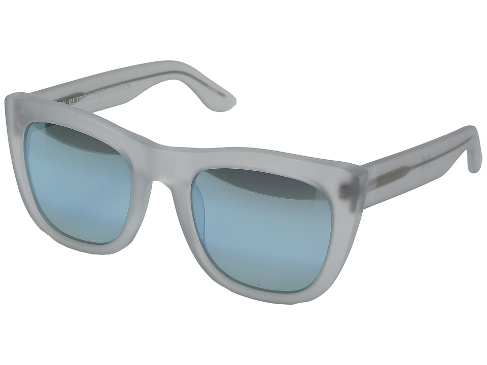 Super - Gals 50M (Matte Ice/Gradient Blue Mirror) Fashion Sunglasses
