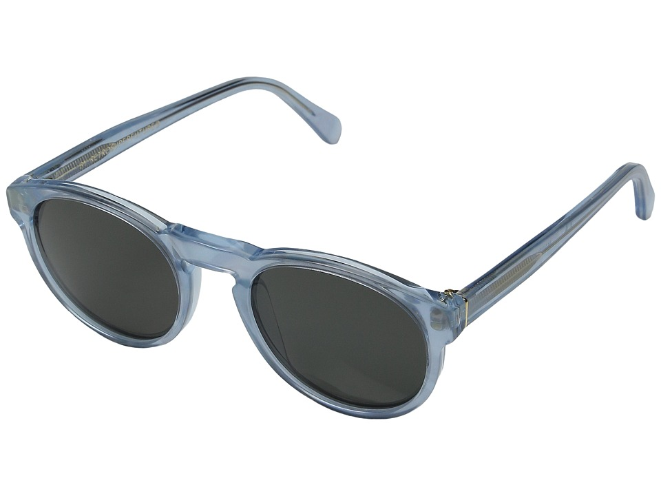 Super - Paloma Pool (Shiny Translucent Blue) Fashion Sunglasses