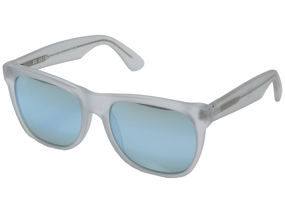 Super - Classic 50M (Matte Ice/Gradient Blue Mirror) Fashion Sunglasses