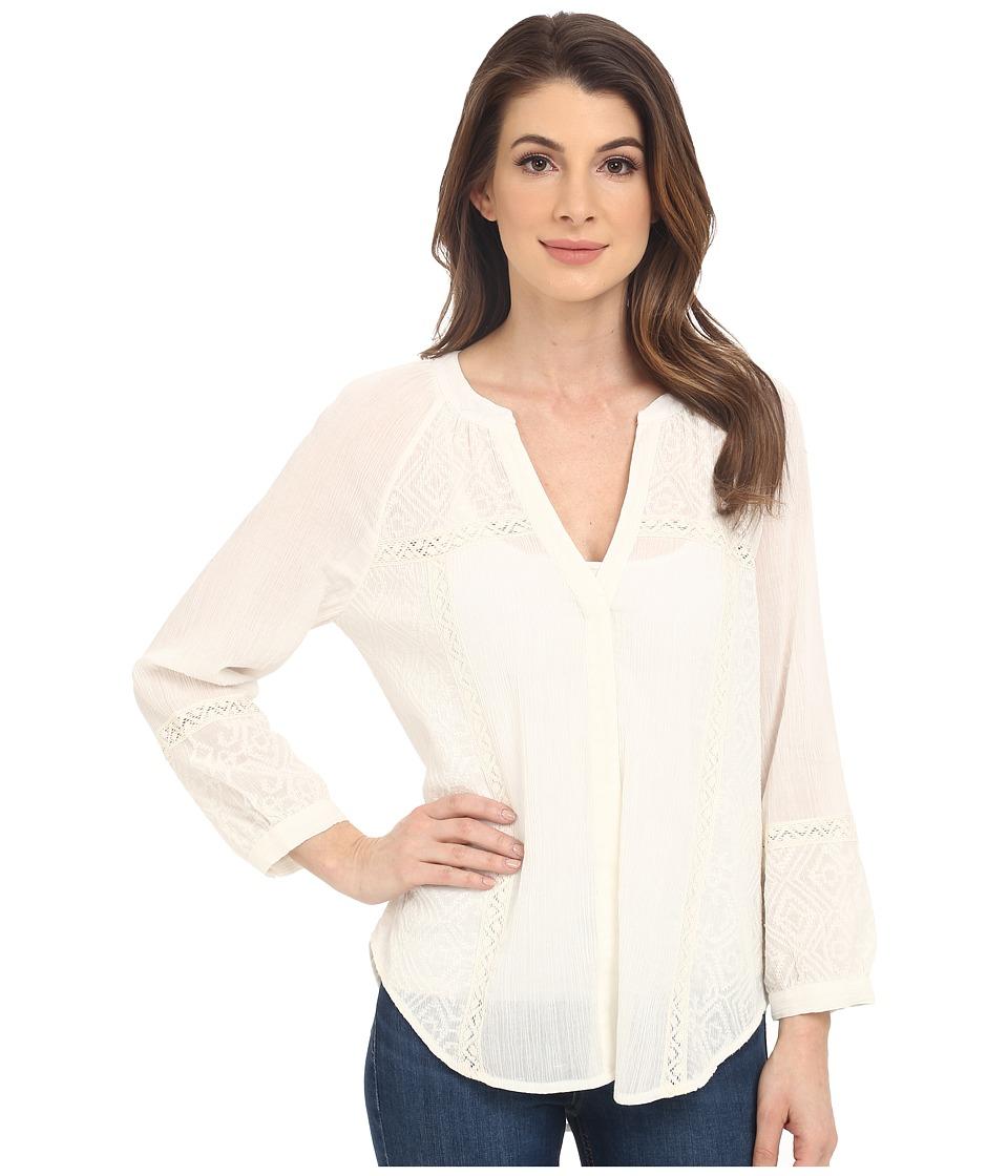 Paige - Deandra Top (Blanc) Women's Blouse