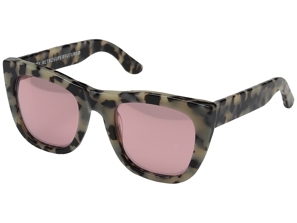 Super - Gals Gel (Summer Safari/Pink Mirror) Fashion Sunglasses