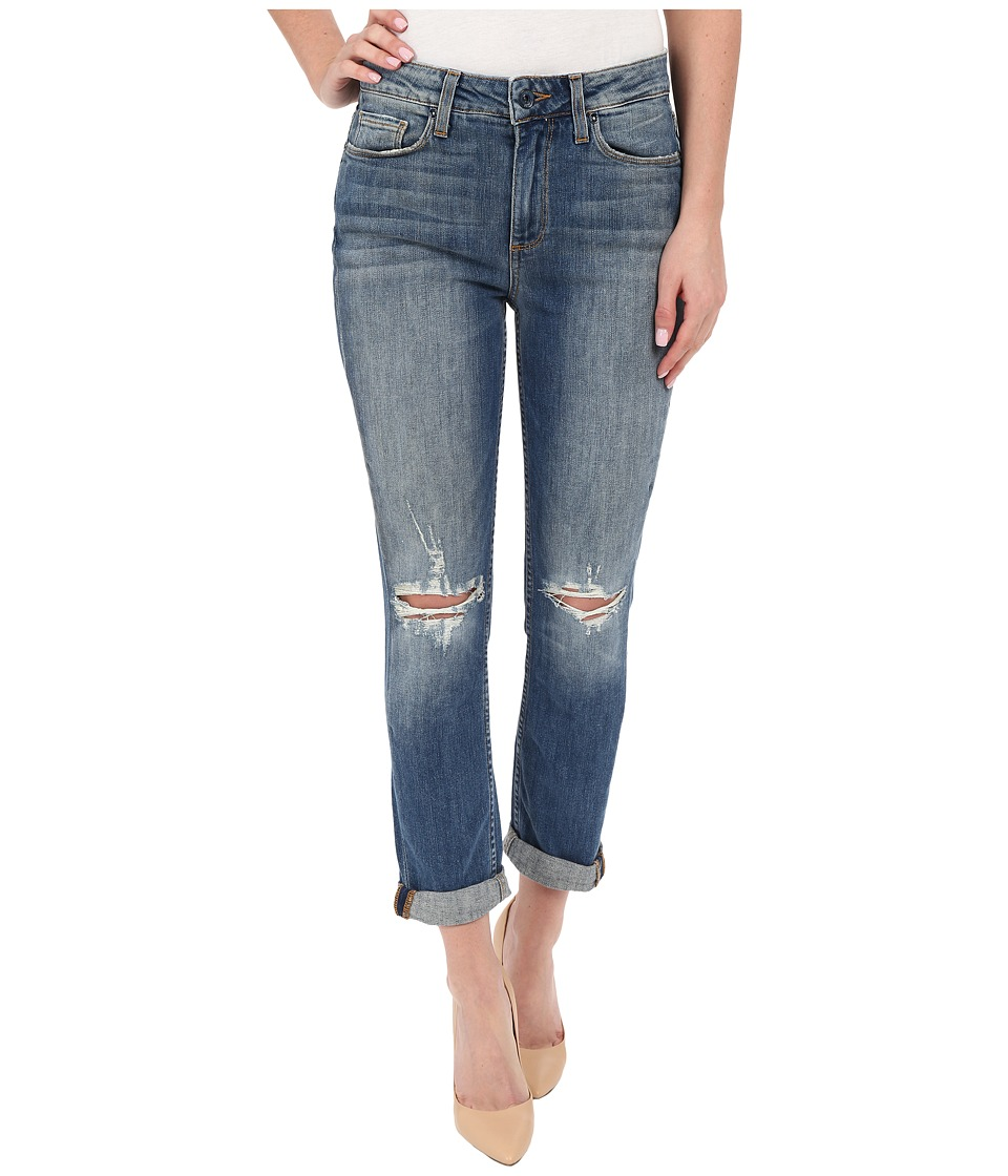 Paige - Carter Slim in Amanda Destructed (Amanda Destructed) Women's Jeans