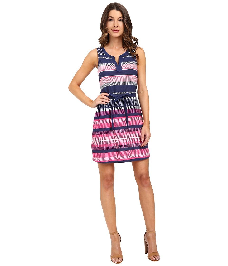Tommy Bahama - Bonaire Stripe Dress (Spring Cherry) Women's Dress