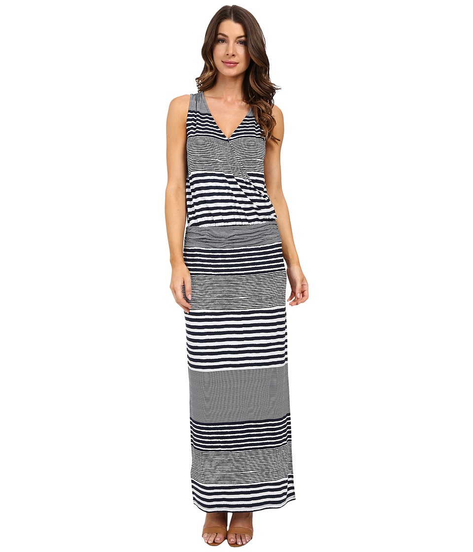 Tommy Bahama - A Stripe to Remember Sleeveless Dress (Ocean Deep) Women's Dress