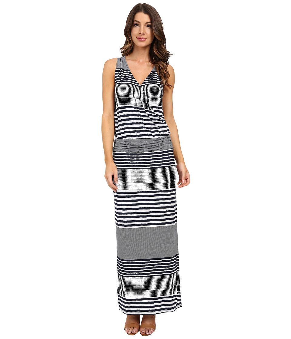 Tommy Bahama - A Stripe to Remember Sleeveless Dress (Ocean Deep) Women's Dress