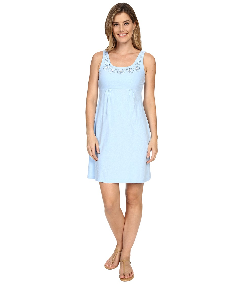 Tommy Bahama - Arden Jersey Embellished Dress (Chambray Blue) Women's Dress