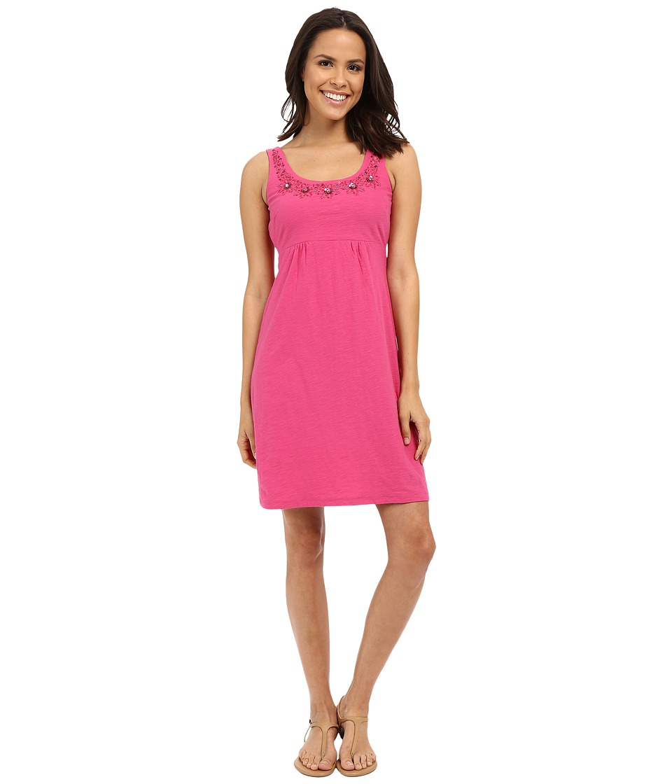 Tommy Bahama - Arden Jersey Embellished Dress (Dark Luscious) Women's Dress