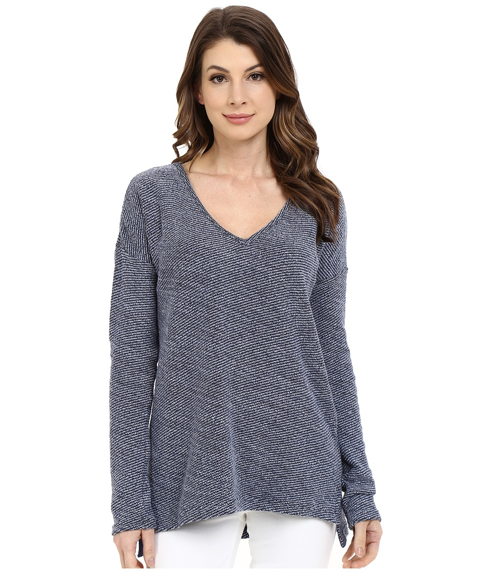 Paige - Martine Top (Dark Ink Blue) Women's Long Sleeve Pullover
