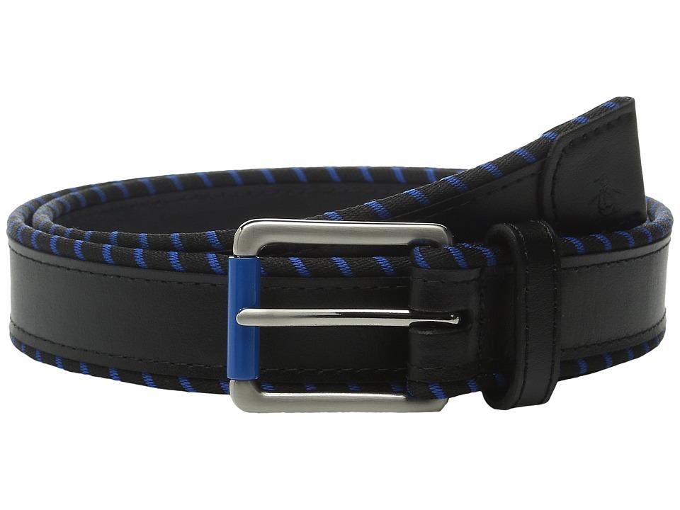 Original Penguin - Hiking Trim Belt (Black) Men's Belts