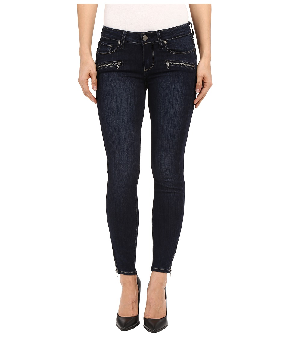 Paige - Jane Zip Crop in Hartmann No Whiskers (Hartmann No Whiskers) Women's Jeans