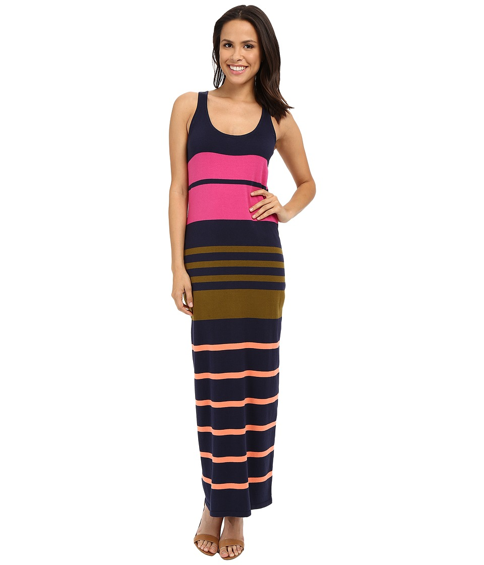 Tommy Bahama - Pickford Stripe Maxi Dress (Ocean Deep Dark Luscious) Women's Dress