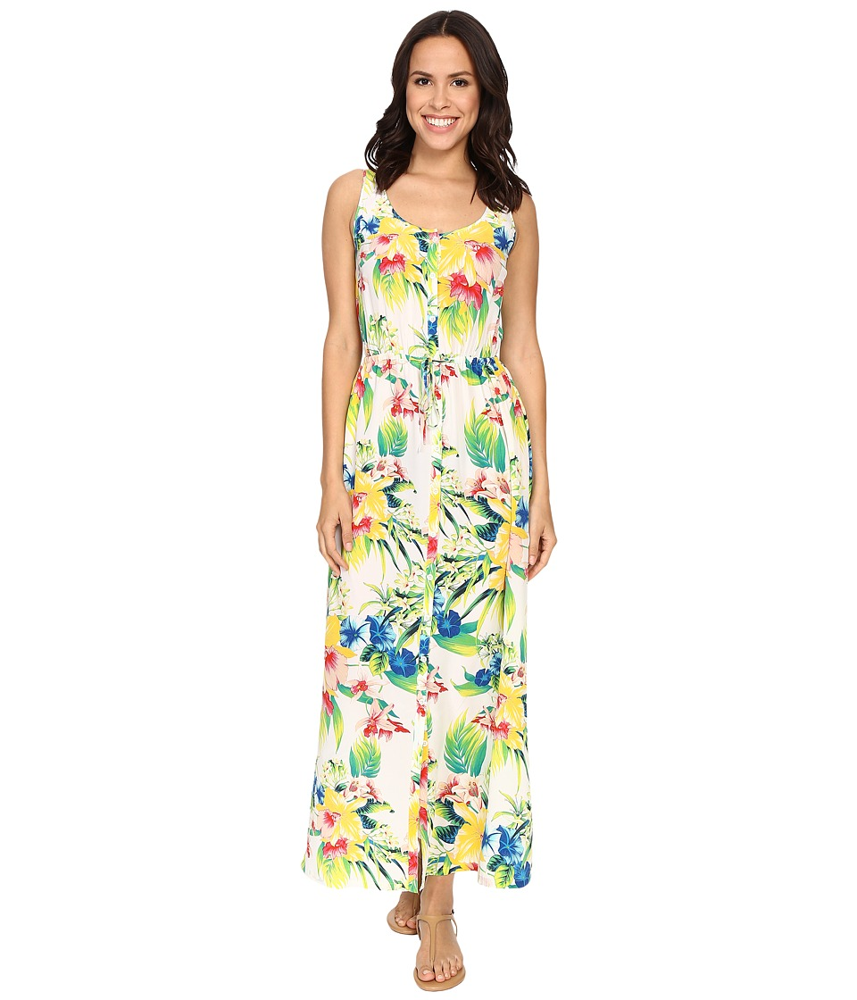 Tommy Bahama - Fleur De Lite Sundress (White) Women's Dress