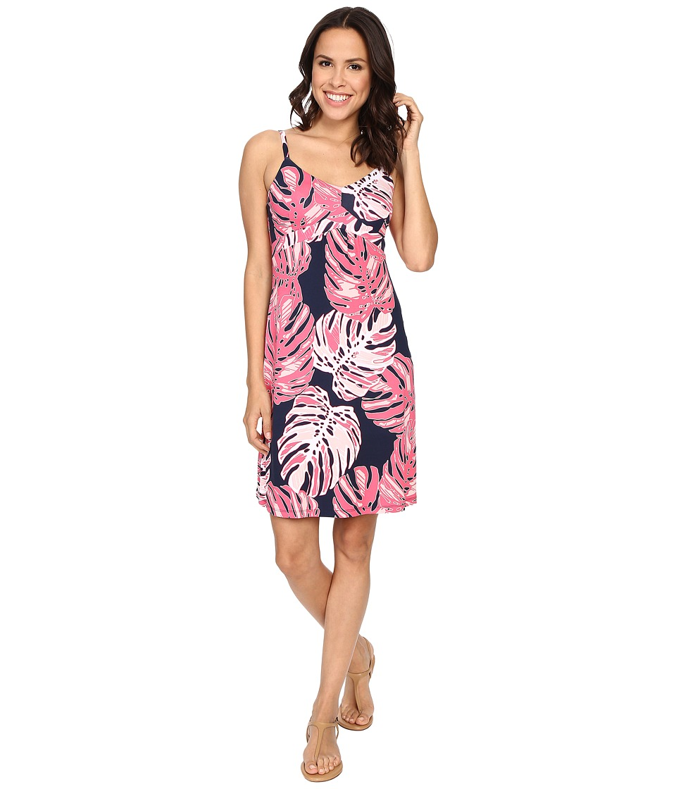 Tommy Bahama - Pop Art Palms Short Dress (Neon Pink) Women's Dress