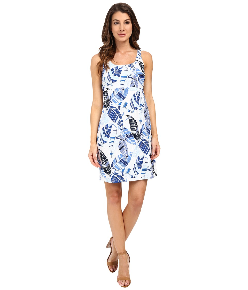 Tommy Bahama - Oo La La Leaf Short Dress (White) Women's Dress
