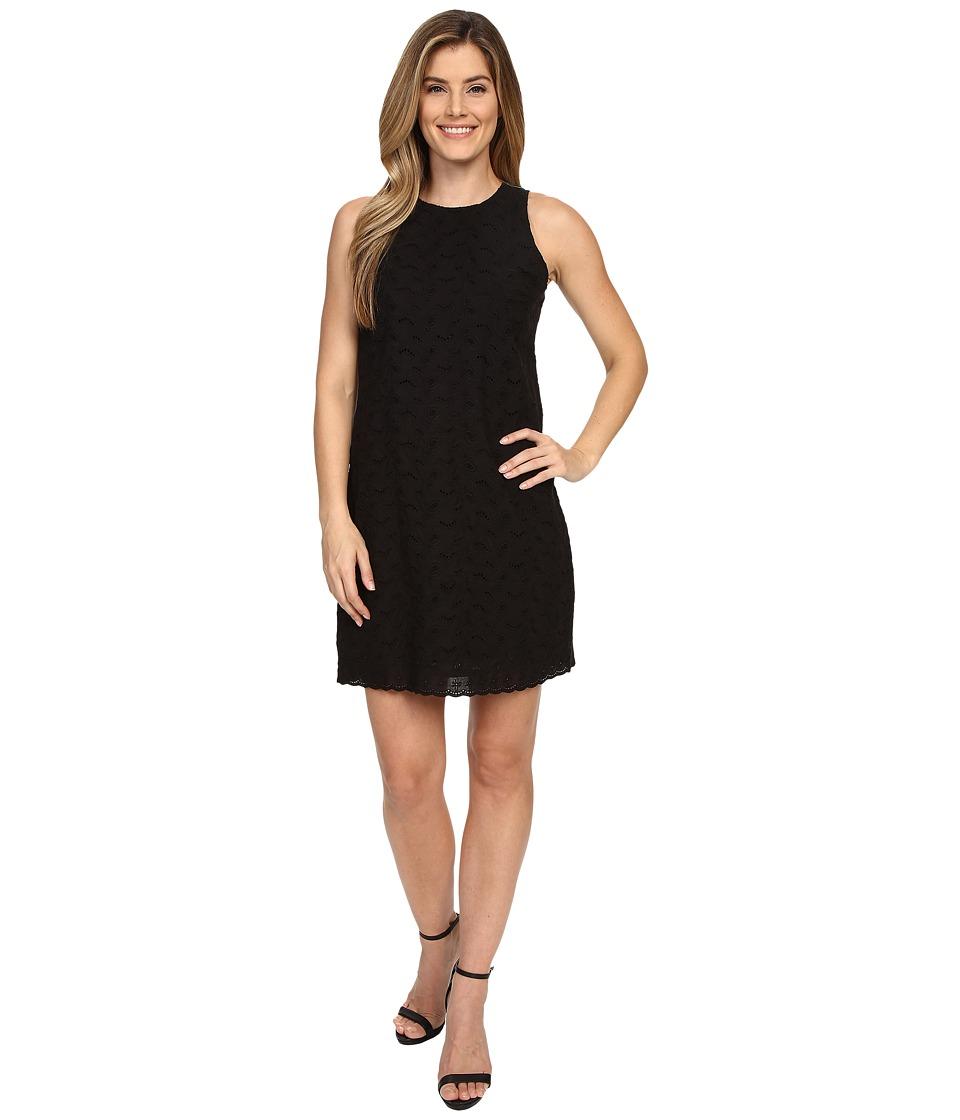 Tommy Bahama - L'Amour Lily Eyelet Shift Dress (Black) Women's Dress