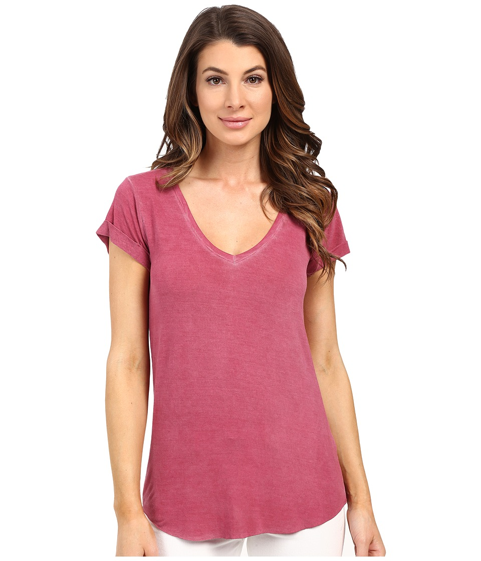 Paige - Charlie Tee (Vintage Rose Plum) Women's T Shirt
