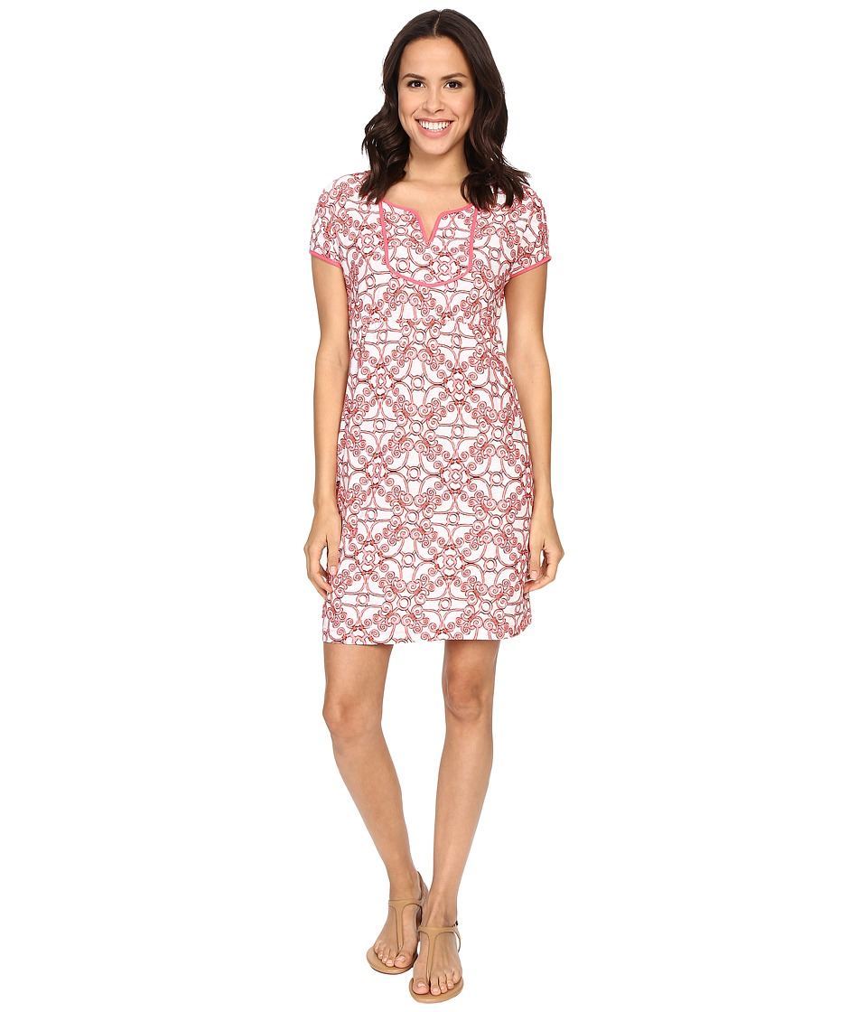 Tommy Bahama - Sophie Swirl Dress (Neon Pink) Women's Dress